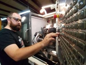 Continental Machining machine setup