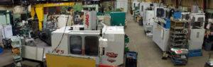 Continental Machining Co. shop floor